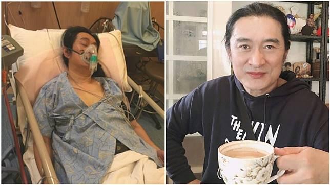 近日大陸網友關心黃安,他親自曝光身體狀況。 (圖/翻攝自黃安微博)