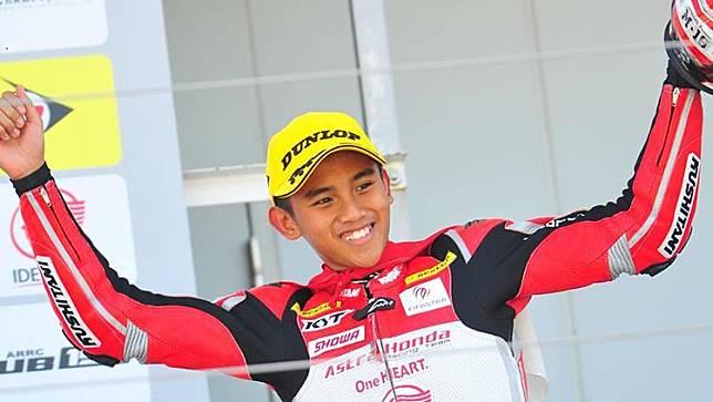 Debut Manis di Moto3, Pembalap Rookie Asal Indonesia Banjir Apresiasi