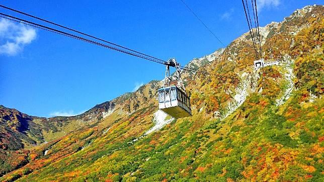 兩個5天團均會重本安排乘坐 6 種特色環保登山工具暢遊立山黑部,沿途欣賞數之不盡的美景。(互聯網)