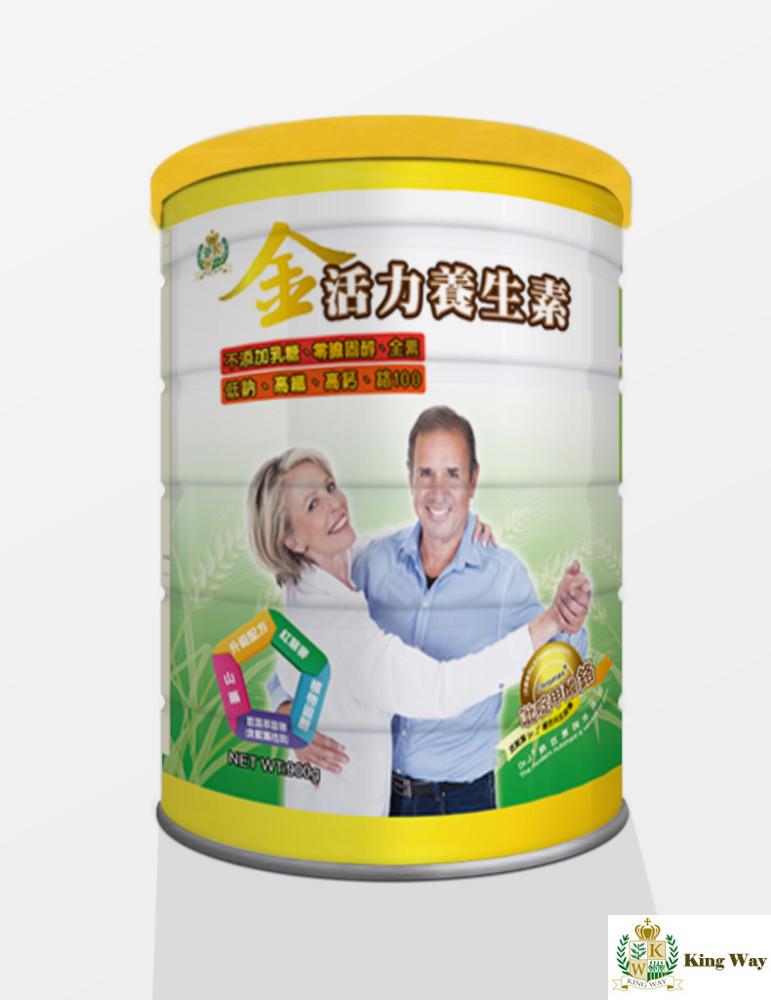 內容規格900g / 罐 適用對象: 中老年人嗜吃甜食者對糖份擔心害怕者新陳代謝不佳排便不順暢素食者喝牛奶不適者 食用方式每次3-4匙(約24-32克)以200溫開水沖泡建議每日兩杯 保存方式: 請置
