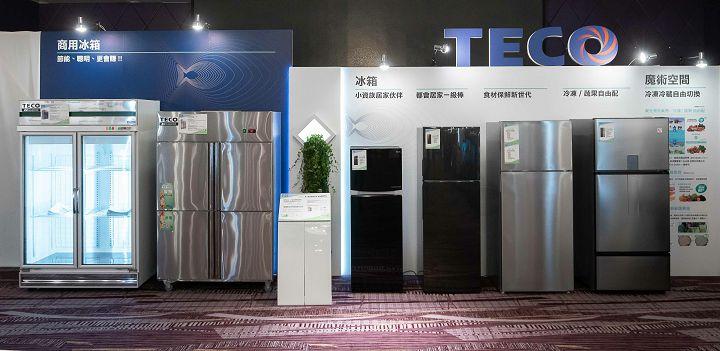 東元冰箱涵蓋家用以及商用領域,機種類型相當齊全。