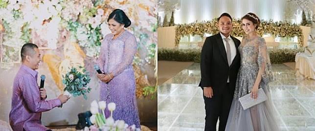 Momen lamaran dan pernikahan 5 anak crazy rich ini so sweet banget