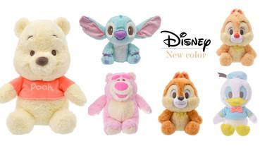 日本迪士尼明星集體換毛色!淡雅「果子露」軟萌色系,小熊維尼、奇奇蒂蒂超減齡!