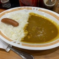 朝カレーA - 実際訪問したユーザーが直接撮影して投稿した西新宿カレーカレーショップC&C 新宿本店の写真のメニュー情報