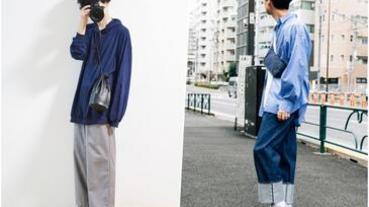 選搭「藍色系上衣」為造型加乘,型男輕鬆穿出簡約自然的衣著質感