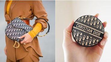 精品級氣墊誕生!Dior推出老花刺繡帆布氣墊,絕美包裝引發熱議