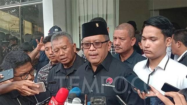 Hasto Kristiyanto, the secretary-general of the Indonesian Democratic Party of Struggle (PDIP). TEMPO/Halida Bunga Fisandra