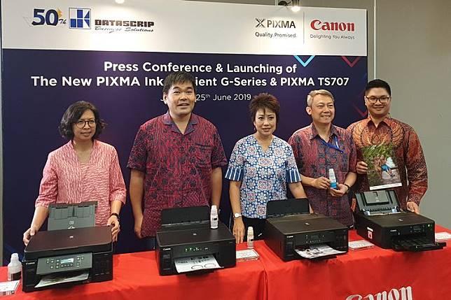 Canon Luncurkan 4 Printer Terbaru yang Hemat Tinta, Harganya?