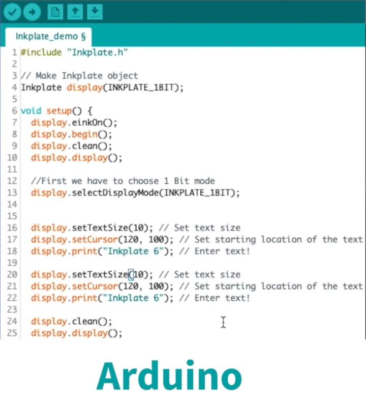 使用者可以透過Arduino IDE開發環境撰寫程式。