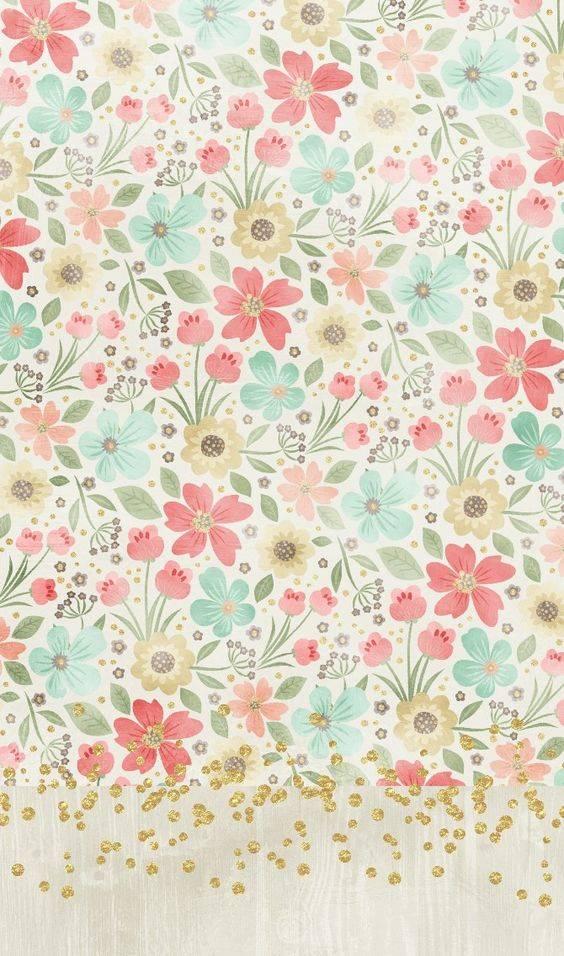 花花總是對女孩有莫名的吸引力 大量碎花wallpaper供應 手機沒有儲存