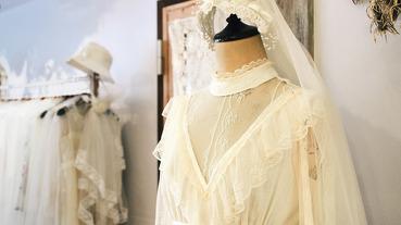 起點帶路 / 上樓尋找讓人幸福的眉梢 令人怦然心跳的古董婚紗