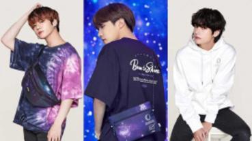 防彈少年團BTS X FILA最新企劃聯名 「VOYAGER COLLECTION」系列台灣同步預購!
