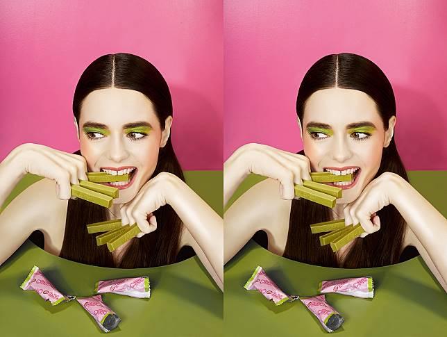 Inspirasi makeup dari Kit Kat Green Tea (dok. Dookie Ducay)