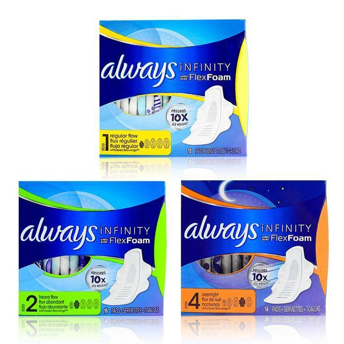 ALWAYS 未來感系列-10倍吸收 液體衛生棉(小盒)(無香) 夜用/日用 (2款可選)