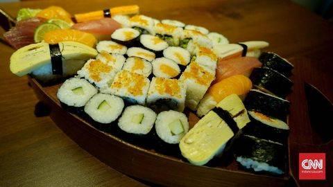 Sushi Tak Berasal dari Jepang