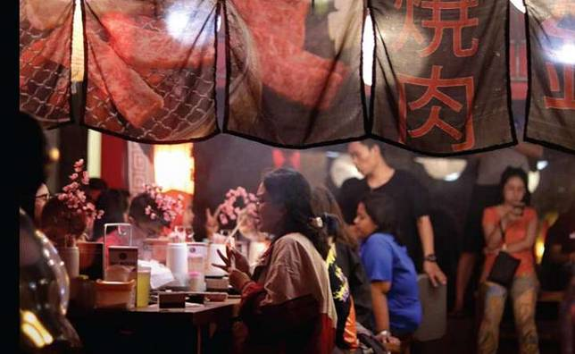 6 Spot Wajib Buat Makan Tenda Ala Jepang
