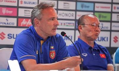 HLV tuyển Myanmar phát biểu sốc: 'Tôi cất 5 cầu thủ chính, trận đấu với Malaysia mới quan trọng'