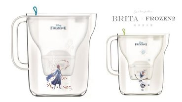 BRITA純淨濾水壺《冰雪奇緣2》限定款,讓艾莎和雪寶陪小朋友喝得健康又安心!