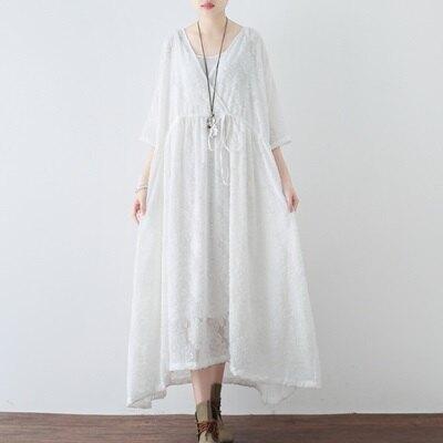 連身長裙寬版連衣裙-時尚優雅氣質天絲雪紡女上衣2色73sm22【獨家進口】【米蘭精品】
