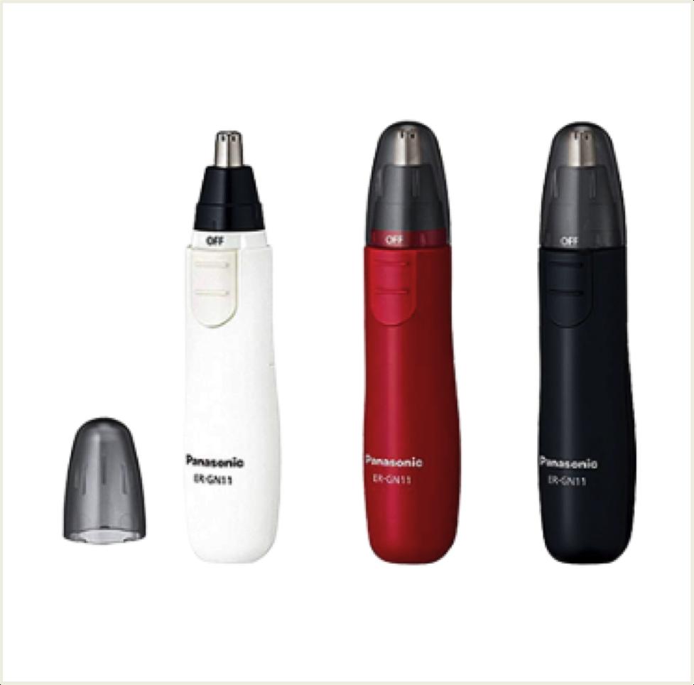 日本製 國際牌 Panasonic ER-GN11 電動鼻毛刀 鼻毛器 白/黑/紅