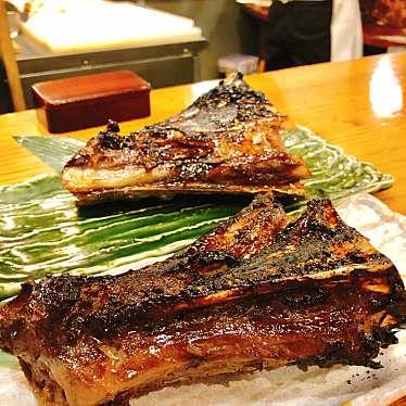 実際訪問したユーザーが直接撮影して投稿した西新宿居酒屋原始焼・二代目・魚々子の写真