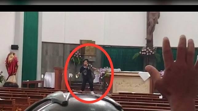 Sebelum Menyerang Gereja Santa Lidwina Bedog, Pelaku Beri Pesan Terakhir ini Pada Keluarga!