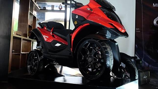 Qooder, Motor Gambot Beroda Empat Resmi Mengaspal di Indonesia (Ist)