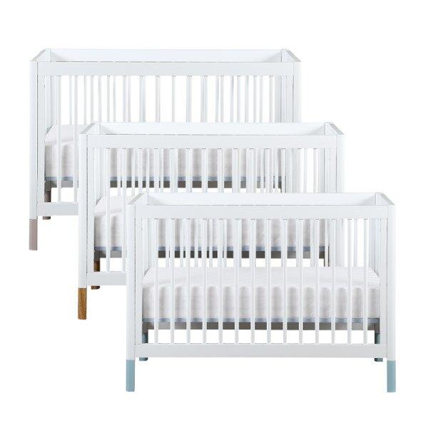 【原木色預計5月初到貨】LEVANA Mini Color三合一嬰兒成長床(單床/床組)3色可選
