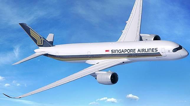 Ilustrasi pesawat maskapai penerbangan Singapore Airlines.