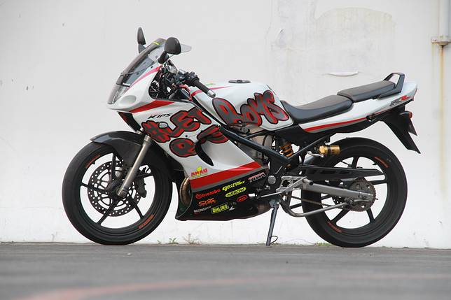 Begini Kawasaki NInja 150 RR hedon ala Kris Camaro