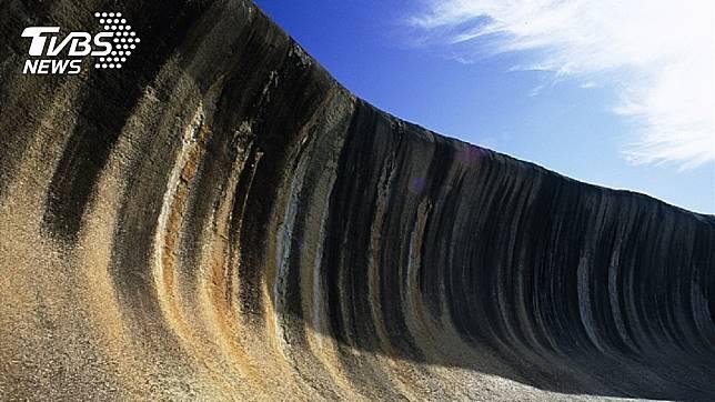 世界上最神秘「海浪」,屹立不搖27億年。圖/達志影像TPG