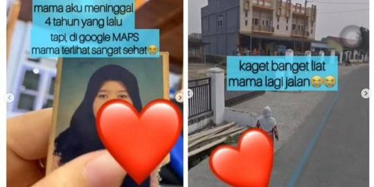 Tak Sangka Menemukan Ibunya yang Meninggal di GMaps. Instagram  makassar_iinfo ©2020 Merdeka.com