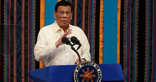 菲國不允許違抗防疫 杜特蒂:違抗執法人員者槍斃