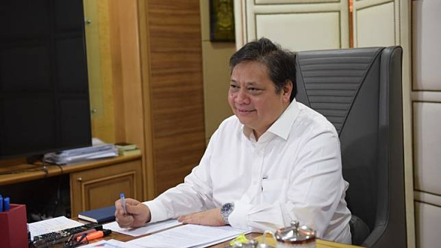 Menteri Koordinator bidang Perekonomian, Airlangga Hartarto. (Foto: Humas Kemenko Perekonomian)
