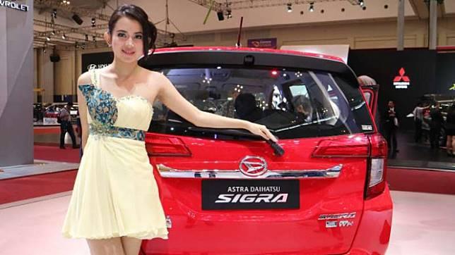 Mobil LCGC Daihatsu Sigra.