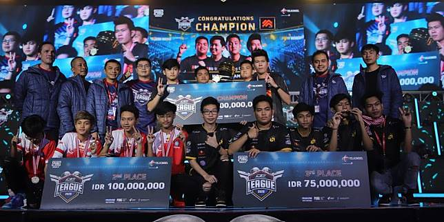 Morph Team Juara Dunia Games League 2020