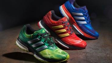adidas 聯名漫威,推出《復仇者聯盟 2》主題跑鞋及服飾