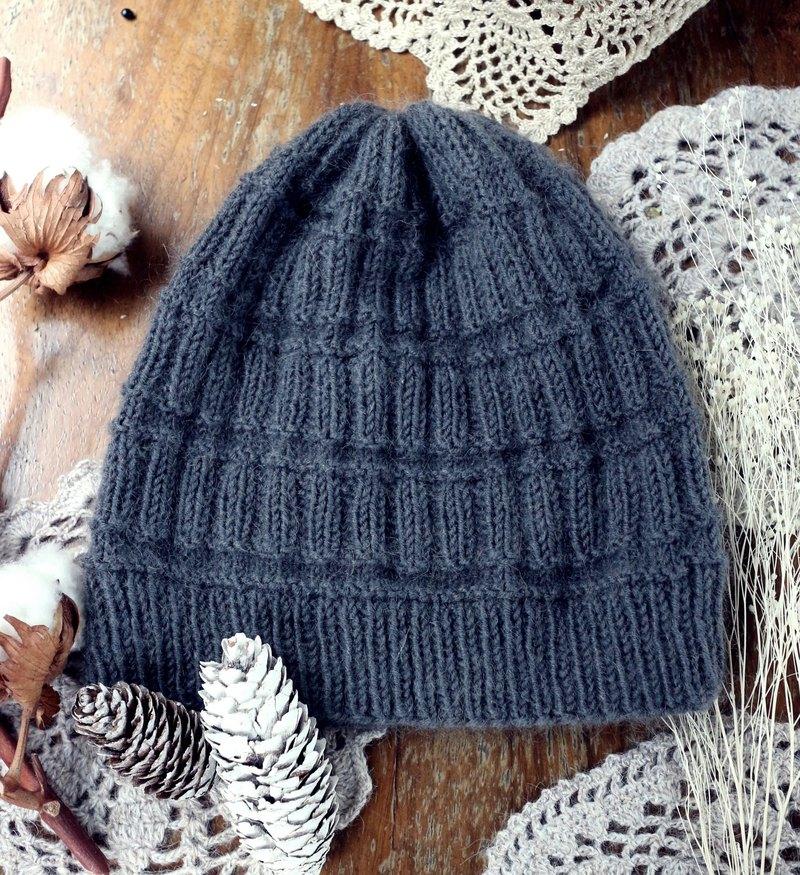 冬日保暖的好朋友-手編織毛線帽