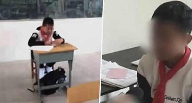 Anak yang mendapat diskriminasi. Image via Shanghaiist