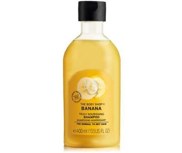 THE BODY SHOP香蕉滋養洗髮精-400ML