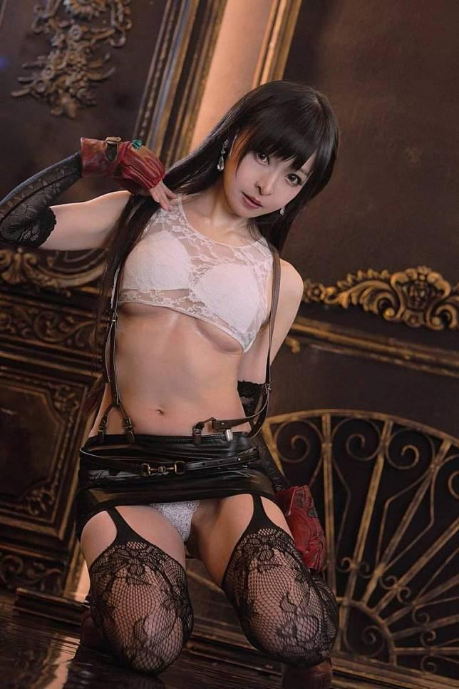 決性11點:Final Fantasy 7蒂法 透視內衣超性感(互聯網)