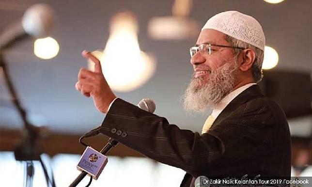 Zakir Naik, ulama asal India. Sumber: malaysiakini.com