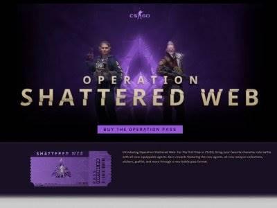 Setelah 2 Tahun, CS:GO Akhirnya Kedatangan Operasi Baru Shattered Web