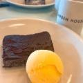 ガトーショコラバニラアイスクリーム - 実際訪問したユーザーが直接撮影して投稿した新宿ビストロGARDEN HOUSE Shinjukuの写真のメニュー情報