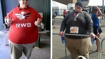 大家都做得到! 258 公斤挑戰 5 公里路跑 意外掀起路跑風潮