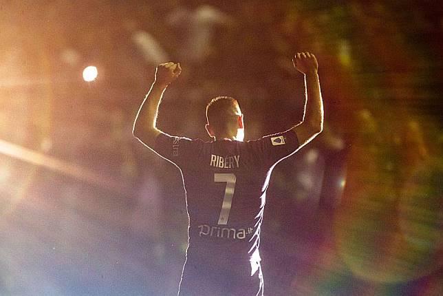 Ribery Datang ke Italia Bukan untuk Tantang Ronaldo