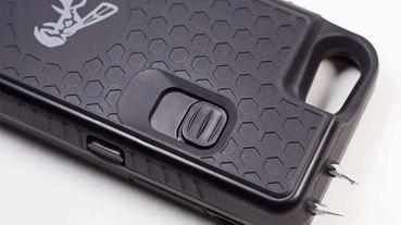 這款 iPhone 保護殼還能當 電擊棒 ,你的手機來電了