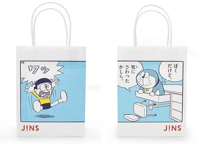 購物袋都落足心機,值得一讚。(互聯網)