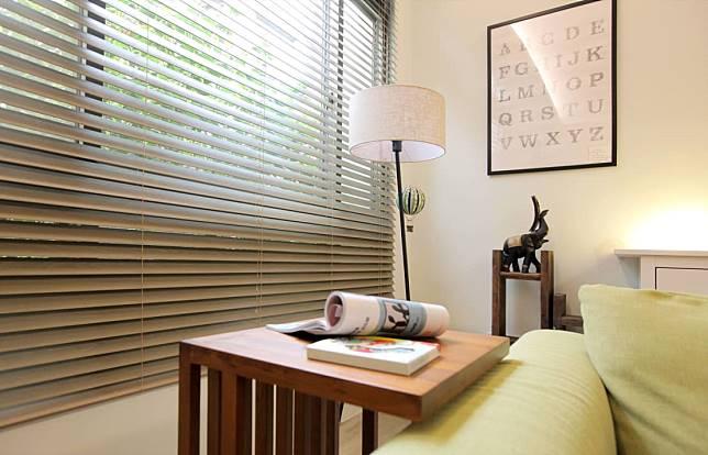 客廳的柔和光線