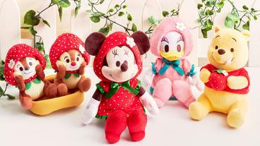 日本迪士尼商店2020年春季商品陪你開始「莓」好新年